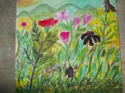 tableau fleurs : vive le printemps