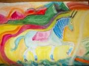 dessin animaux : cheval licorne