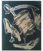 dessin abstrait or : Liberté