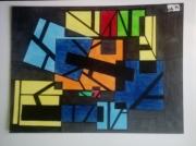dessin abstrait abstrait : Enfermé