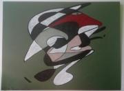 dessin abstrait cansin : Hippiste