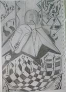 dessin autres : Porte ouverte