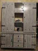 autres autres meuble bahut vaisselier bois de palette : bahut bois de palette