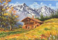 Cabane des montagnes
