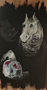 tableau autres expressionisme cauchemar animal nuit : Phase de cauchemar