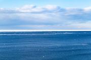 photo paysages fleuve saintlaurent hiver glace : Nuances de Saint-Laurent