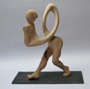 sculpture personnages : La marche