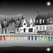 art numerique architecture le touquet plage : Le TOUQUET PARIS PLAGE