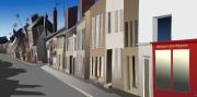 art numerique villes ville street : Rue Carnot