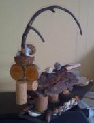 sculpture animaux : Crocodil'Préhisto
