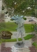 tableau villes venise loiret chien legendes : Chien de Montargis