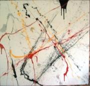 tableau abstrait abstrait : Un berlin air pas petit