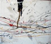 tableau abstrait abstrait : Un berlin air bétin