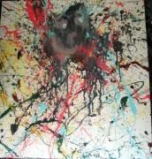 tableau abstrait abstrait fantome : Fantome