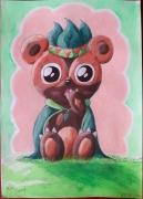 dessin personnages ourson mignon fantastique imaginaire : Choupinours