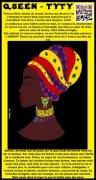 ceramique verre personnages beaute africaine amazone black live matter portrait : FRIKAGIRL TYTY