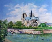 tableau marine notre dame de paris : NOTRE DAME DE PARIS