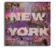 """painting villes new york collage new york tableau new york toile new york : tableau """" New York """""""