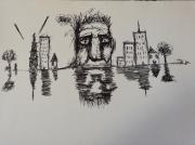 dessin abstrait : La folie