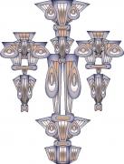 deco design abstrait sculpture amenagement creation original : SCULPTURE CAREOTREBOSIBO SAH1731
