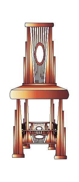 DéCO, DESIGN CHAISE CREATION ORIGINAL MEUBLE  - MEUBLE COURONEOSIBO MAH3745