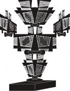 deco design autres : SCULPTURE COURONEOSIBO SAH1754