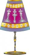 deco design abstrait eclairage lampe creation original : LAMPE JOLISIBO LAH693