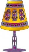 autres personnages eclairage lampe creation original : LAMPE FAISIBO LAH193
