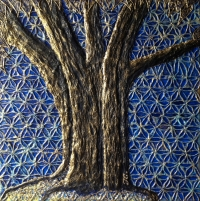 Blue tree of life