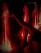 photo scene de genre sensualite eau nice original : jeu d'eau n°4