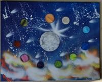 La vie autour de la lune