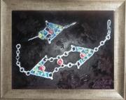 "tableau autres bijoux berberes : Fibule ""Khelela"""