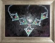 "tableau autres bijoux berberes : Couronne ""Djebine"""