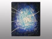 tableau abstrait tableau moderne cont abstrait design expr lepolsk matuszewski exposition tableau ,a : MATURI BLEU N°1 (non disponible)