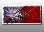 tableau abstrait peinture abstraitre action painting pein galerie exposition g tabaleau contemporai : SEISME (non disponible)