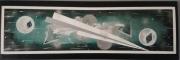 tableau abstrait cosmique mythique regard : Le chemin