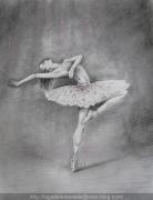 """tableau personnages danse danseuse femme personnage : """"Souplesse"""""""