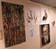 tableau : salle d'exposition