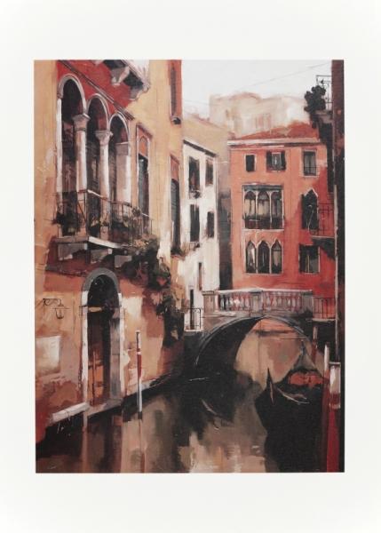 AUTRES Venise eau MITRO artiste Villes  - A VENISE