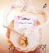 bijoux fleurs : collier