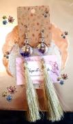 bijoux fleurs : boucles d'oreilles