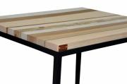 deco design autres chevet table basse : Le cube aspect marqueterie
