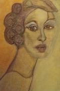 tableau autres femme lumiere portrait une petite fenetre s : Modior