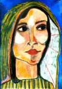 tableau personnages religion femme intuition une amie pres de che : amie intérieure