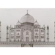 dessin architecture inde agrah mumtaz mausolee : Le Taj Mahal