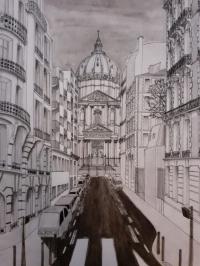 La rue du Val de grâce et la basilique