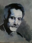 tableau personnages : G.Brassens