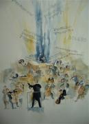tableau autres bolero ravel aquarelle : Bolero