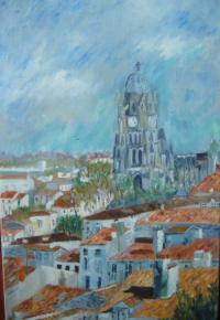 cathédrale saint-Pierre Saintes