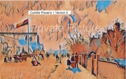 art numerique villes ville crystal palace avenue pissarro : Le Crystal Palace Version 6
